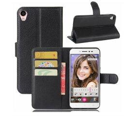 ASUS ZenFone Live ZB501KL 手帳型 ケース スタンド カバー レザーデザイン カード 収納 ポケット ソフトケース 衝撃 擦り傷防止