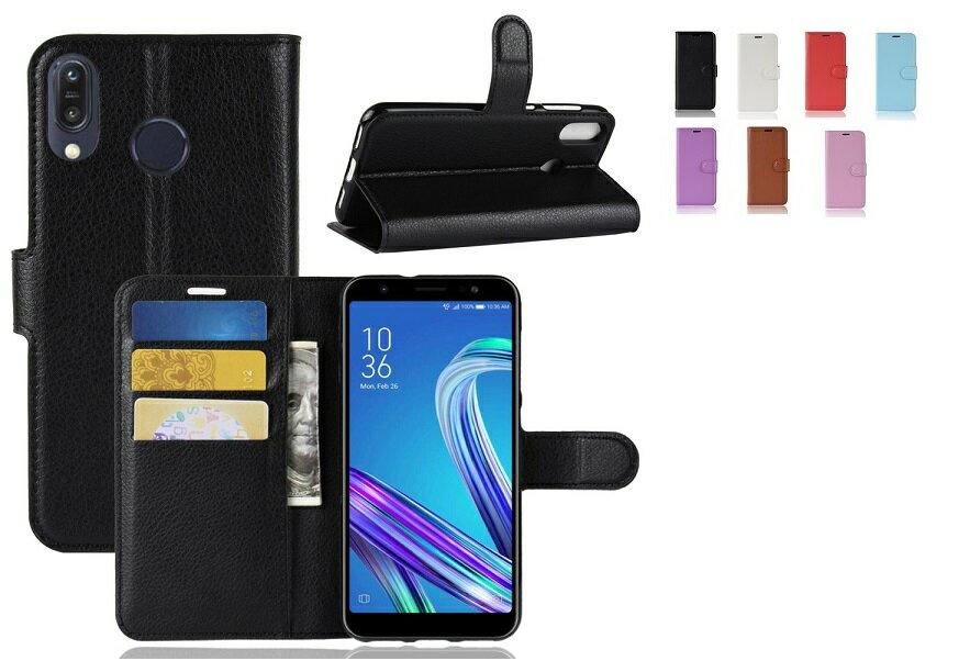 ZenFone Max M1 ZB555KL 手帳型 ケース スタンド カバー pu レザーデザイン カード 収納 ポケット ソフト asus