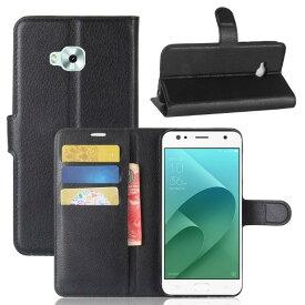 Asus ZenFone 4 Selfie ZD553KL 手帳型 ケース スタンド カバー pu レザーデザイン カード 収納 ポケット