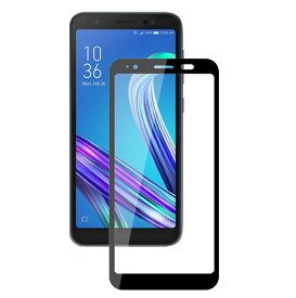 ZA550KL ZS600KL ガラスフィルム ZenFone Live (L1) ROG Phone フィルム asus 全面保護 黒 白 液晶保護フィルム ガラス シート
