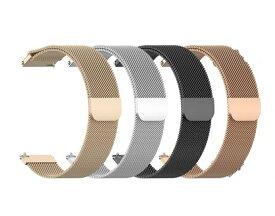 Amazfit GTR 47mm 42mm ハンド ステンレスベルト ウォッチベルト 交換ベルト 腕時計ハンド シルバ