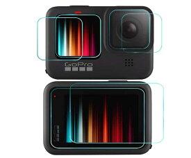 GoPro HERO9 Black ガラスフィルム カメラ フィルム 液晶保護フィルム camera 保護シート film
