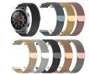 時計バンド ウォッチベルト ステンレス マグネット式腕時計バンド スマート時計バンド 全7色 幅 18mm 20mm 22mm 交換…