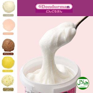 【本格】トルコアイスクリーム どんどるまん 定番5種 10個セット(バニラ、イチゴ、マンゴー、チョコ、モッツァレラとクランベリー) ギフト トルコ名物