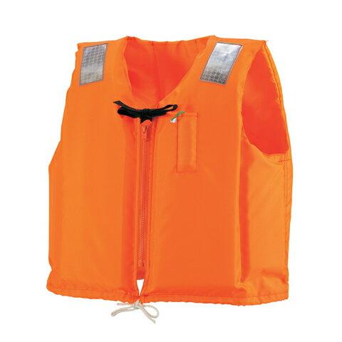 激安!ライフジャケット! 救命胴衣C-2型 オレンジ 船舶検査品 国交省認定品 【 OCEANLIFE - オーシャンライフ 】 [ 7月下旬頃の入荷予定 ]