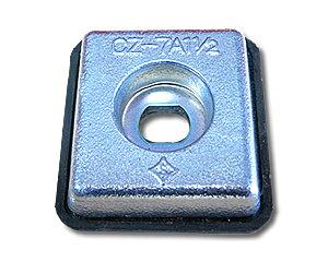 防蝕亜鉛板 CZ-7A1-1/2 [17.5×70×75] 中央工産