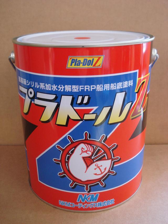 プラドールZ 4kg 2缶 黒 NKM コーティングス 『送料無料』 船底塗料 ブラック