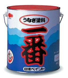 当日発送!! うなぎ塗料一番 レトロレッド 4kg 日本ペイント 『送料無料』 船底塗料 うなぎ一番 うなぎ1番