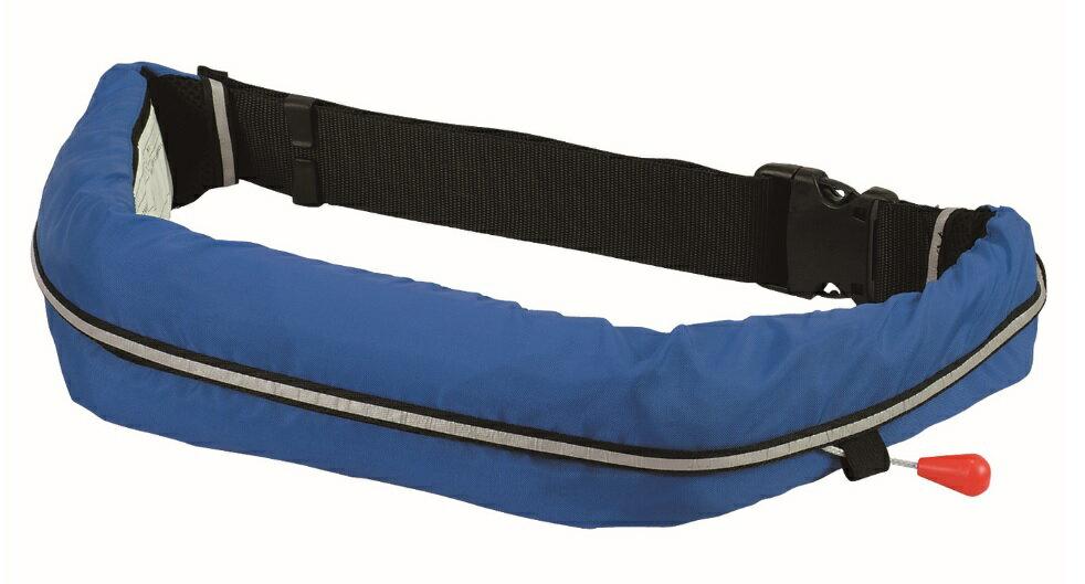 自動膨張式ライフジャケット 青 WR-1 救命胴衣 桜マーク