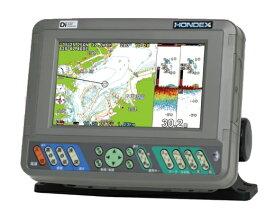 在庫あり!HONDEX ホンデックス 魚群探知機 新型 PS-700GP-Di(S) GPSプロッター魚探 GPSアンテナ内蔵 デジタル方式魚探600W(HONDEXオリジナル地図仕様) 在庫あり!