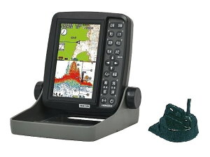 在庫あり! 即日発送も! HONDEX ホンデックス ポータブル 魚群探知機 PS-611CN 魚探 5型ポータブル GPSプロッター魚探 100W GPSアンテナ内蔵