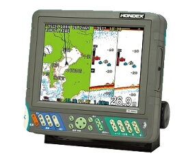 HONDEX(ホンデックス) PS-800GP(s) 50/200kHz 600W 8.4型GPSプロッター魚探 GPSアンテナ内臓(HONDEX自社製地図仕様)