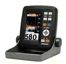 在庫あり!ホンデックス HONDEX PS-500C 4.3型ワイドカラー液晶ポータブル魚探 (魚探200kHz100W TD04A振動子) 魚群探知機