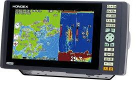在庫あり! HONDEX ホンデックス 魚群探知機 新型 PS-900GP-Di GPSプロッター魚探 GPSアンテナ内蔵 デジタル方式魚探600W(HONDEXオリジナル地図仕様)