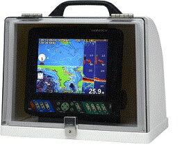 HONDEX ホンデックス 魚探BOX GB01固定型 (底部にコネクタ用穴付) 注意!魚群探知機は含みません。