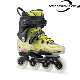 2017ROLLERBLADE【TWISTER X/TRANSLUCENT-FLUO YELLOW】