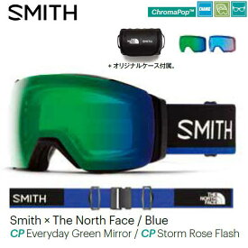 19/20SMITH|I/O MAG XL/Early Goggle|Smith × The North Face / Blue|CPEGM/CPSRF