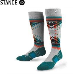 STANCE SOCKS WHITMORE/GREY HEATHERスタンススノーボード用ソックス