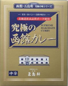 究極の函館カレー 210g 五島軒 中辛 カレー レトルト レトルト食品 お土産 ギフト