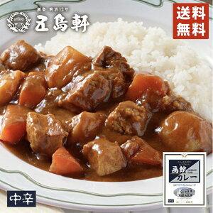 函館カレー 中辛 200g×2個セット 五島軒 カレー レトルト レトルト食品 お土産 ギフト