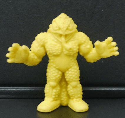 キン消し(キンケシ) 超人 スニゲーター D 黄色 キン肉マン消しゴム ゆでたまご【中古】