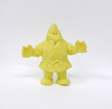 キン消し(キンケシ) 超人 ザ・マウンテン(ザ・魔雲天)A 黄色 キン肉マン消しゴム ゆでたまご【中古】
