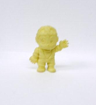 キン消し(キンケシ) 超人 ビーンズマン A 黄色 キン肉マン消しゴム ゆでたまご【中古】