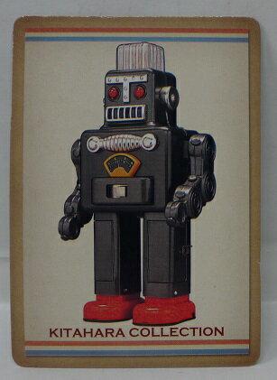 【中古・内袋未開封】 北原コレクション No.1 スモーキングロボット(黒) 食玩 バンダイ