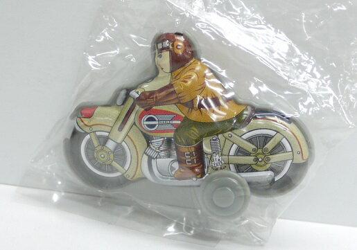 【内袋未開封】ブリキのおもちゃ館 北原コレクション モーターバイク アメリカンバイク  明治チョコレート 食玩