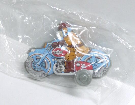 【内袋未開封】ブリキのおもちゃ館 北原コレクション モーターバイク ミリタリーバイク  明治チョコレート 食玩
