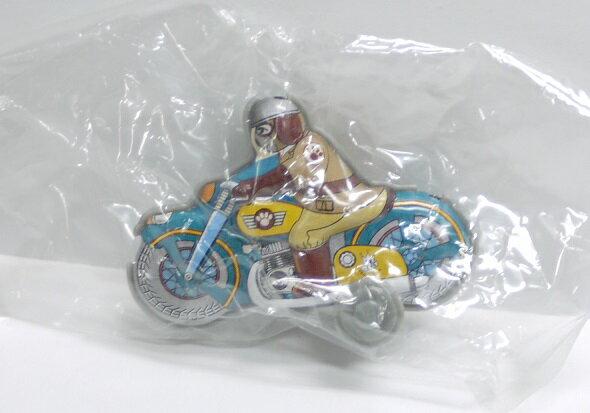 【内袋未開封】ブリキのおもちゃ館 北原コレクション モーターバイク (シークレット)  明治チョコレート 食玩