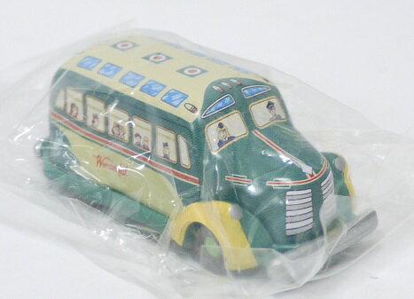 【内袋未開封】ブリキのおもちゃ館 北原コレクション ボンネットバス ワンダフルバス 明治チョコレート 食玩