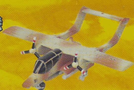 フルタ チョコエッグ 世界の戦闘機シリーズ 第3弾 51 OV-10 ブロンコ