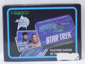 【箱にダメージ・未使用品】スタートレック 金属ケース入りトランプ STAR TREK Playing Cards in Tin Box ENESCO【中古】