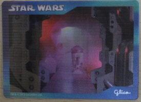 グリコ×スターウォーズキャンペーン ホログラムカードK レイア R2-D2