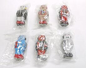 【内袋未開封】ブリキのおもちゃ館 北原コレクション ズーマー・ザ・ロボット シークレット含む全6種コンプリートセット 明治チョコレート 食玩