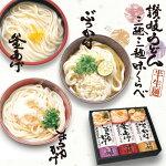 三趣三麺味くらべ/讃岐うどんギフトセット