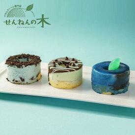 【夏季限定】プチバウムケーキチョコミント食べ比べセット バウムクーヘン せんねんの木