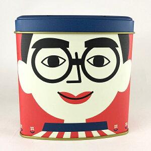 【くいだおれ太郎 プリン三角缶】大阪 お土産 人気 期間限定 スイーツ 可愛い缶 映え