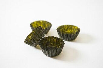 食べるうつわ焼海苔8枚、味付海苔12枚焼海苔がうつわに味付け海苔がうつわにそのまま食べられるうつわ