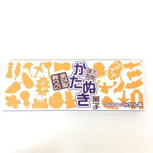 【ナニワの かたぬき】大阪 お土産 菓子 ラムネ 関西 カタヌキ みかん味 駄菓子 レトロ 楽しい かわいい 縁日