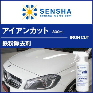 鉄粉除去剤アイアンカット洗車の王国