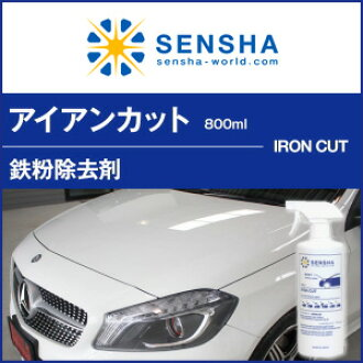 IRON CUT 800ml cleaner for removing iron sand