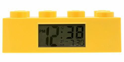 【TOY】<時計>LEGO レゴ トイウォッチ アラームクロック ブロック イエロー LF-9002144【946229】