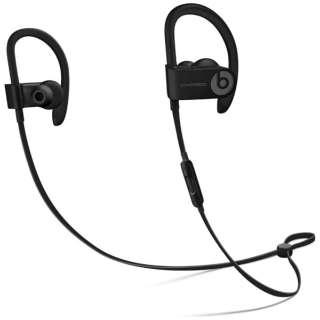 【ヘッドホン・イヤホン】 Beats by Dr.Dre Beats by Dr.Dre ワイヤレスイヤホン PowerBeats3 ML8V2PA/A・Bluetooth対応 ・密閉型 ・ブラック 【976792】