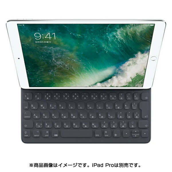 【タブレットケース】 APPLE 10.5インチiPad Pro用 Smart Keyboard MPTL2J/A・フルサイズキーボード ・日本語(JIS) ・オンスクリーンショートカットバー 【976251】