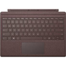 【タブレットケース】 マイクロソフト Surface Pro Signature タイプ カバー FFP-00059 [バーガンディ]・ガラス製トラックパッド ・LEDバックライト ・高耐久性 【976160】