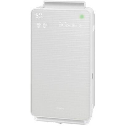 【空気清浄機】 日立 クリエア EP-NVG70・空清32畳まで/加湿27畳まで ・ステンレス・クリーン ・パールホワイト 【976711】