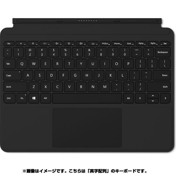 【タブレットケース】 マイクロソフト Surface Go タイプ カバー KCM-00021・マイクロソフト ・英字配列 ・ブラック 【977389】