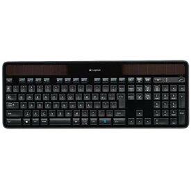 【キーボード】 ロジクール Wireless Solar Keyboard K750r [ブラック]・ロジクール ・ワイヤレスキーボード ・ソーラーパネル搭載 【978172】T